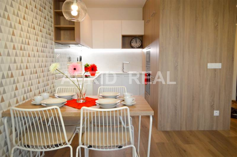 NEW BRAND BUILDING FUXOVA (F2) | DESIGN TWO-ROOM APARTMENT FOR RENT